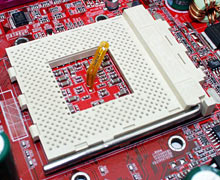 K7T CPU socket with thermal sensor