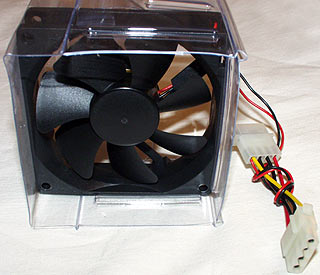 review 2coolpc ducted fans for computer cooling. Black Bedroom Furniture Sets. Home Design Ideas