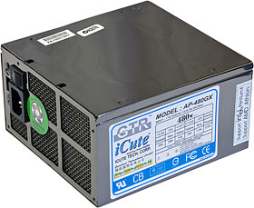 GTR 480GX power supply