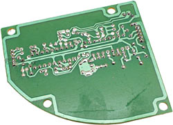 Receiver circuit board reverse