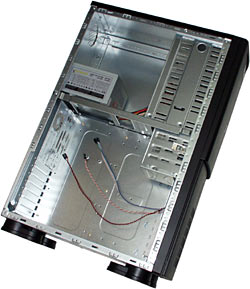 Inside tower case