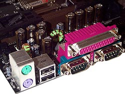 Ports and capacitors