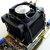 Hybrid Alpha/Intel cooler