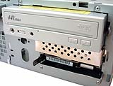 Drives mounted