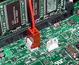 CPU fan connector
