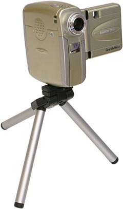CoolDV 350 on tripod