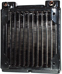 Black Ice radiator detail