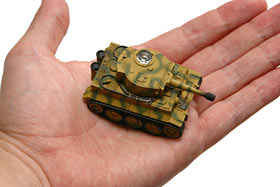 Tank in hand