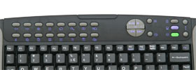 Multimedia special function keys