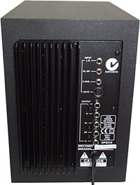 XPS 510 subwoofer back panel