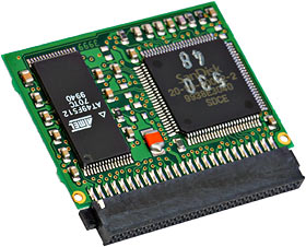CompactFlash card circuit board