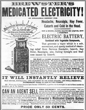 Brewster's Medicated Electricity!