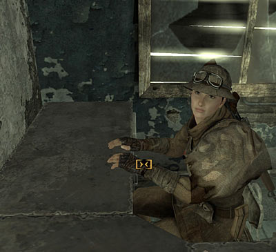 Invisible typewriter in Fallout New Vegas