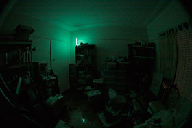 Room lit by Krill Torch
