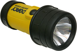 Dorcy waterproof flashlight
