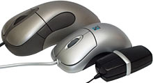 Intellimouse Explorer, MOP-35 and Super Mini Mouse