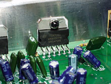 Altec Lansing amp chip
