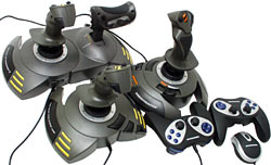 Thrustmaster game controllers!