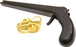 Snapshot rubber band gun